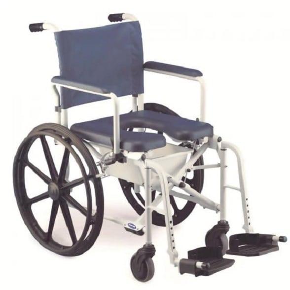 b65cefedb Cadeira de Rodas para Banho e Sanitária Lima com Roda Grande ...
